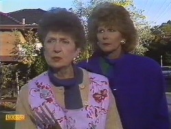 Nell Mangel, Madge Bishop in Neighbours Episode 0532
