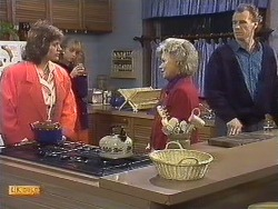 Beverly Marshall, Jane Harris, Helen Daniels, Jim Robinson in Neighbours Episode 0532