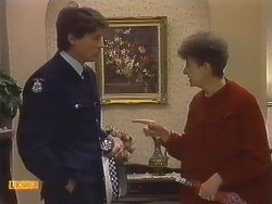 Police Officer, Nell Mangel in Neighbours Episode 0532