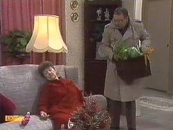 Nell Mangel, Harold Bishop in Neighbours Episode 0533