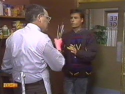 Harold Bishop, Mike Young in Neighbours Episode 0533
