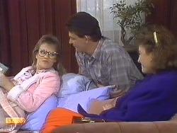Daphne Clarke, Des Clarke, Gail Robinson in Neighbours Episode 0533