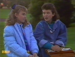 Emma Gordon, Lucy Robinson in Neighbours Episode 0533