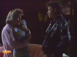 Daphne Clarke, Jamie Clarke, Mike Young in Neighbours Episode 0556