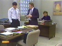 Paul Robinson, Businessman, Gail Robinson in Neighbours Episode 0558