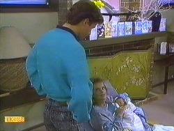 Mike Young, Daphne Clarke, Jamie Clarke in Neighbours Episode 0558