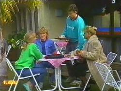 Jane Harris, Henry Ramsay, Mike Young, Amanda Harris in Neighbours Episode 0558