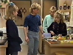 Jane Harris, Henry Ramsay, Scott Robinson, Charlene Mitchell in Neighbours Episode 0561