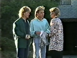 Henry Ramsay, Scott Robinson, Amanda Harris in Neighbours Episode 0561