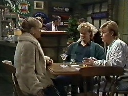 Amanda Harris, Henry Ramsay, Scott Robinson in Neighbours Episode 0561