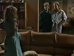 Charlene Mitchell, Henry Ramsay, Scott Robinson in Neighbours Episode 0562