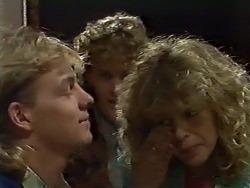 Scott Robinson, Henry Ramsay, Charlene Mitchell in Neighbours Episode 0562