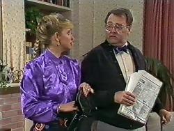 Amanda Harris, Harold Bishop in Neighbours Episode 0562