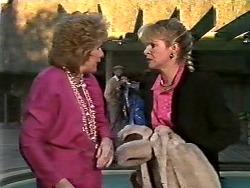 Madge Ramsay, Amanda Harris in Neighbours Episode 0564