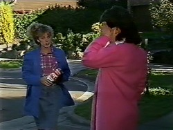 Charlene Mitchell, Lucy Robinson in Neighbours Episode 0565