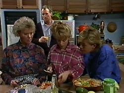 Helen Daniels, Jim Robinson, Charlene Mitchell, Scott Robinson in Neighbours Episode 0565