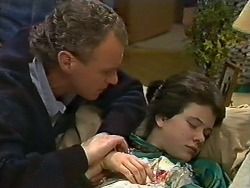 Jim Robinson, Lucy Robinson in Neighbours Episode 0565