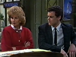 Madge Bishop, Paul Robinson in Neighbours Episode 0567