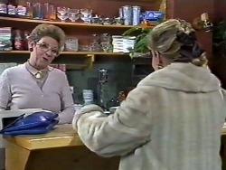 Eileen Clarke, Amanda Harris in Neighbours Episode 0568