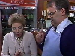 Eileen Clarke, Harold Bishop in Neighbours Episode 0568