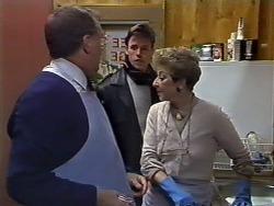 Harold Bishop, Mike Young, Eileen Clarke in Neighbours Episode 0568