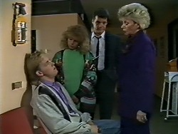 Scott Robinson, Charlene Robinson, Paul Robinson, Helen Daniels in Neighbours Episode 0568