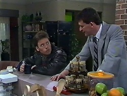 Mike Young, Des Clarke in Neighbours Episode 0569