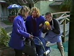 Daphne Clarke, Madge Ramsay, Harold Bishop in Neighbours Episode 0569