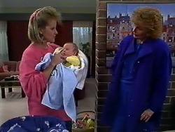 Daphne Clarke, Jamie Clarke, Madge Ramsay in Neighbours Episode 0570