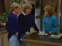 Scott Robinson, Henry Ramsay, Madge Bishop in Neighbours Episode 0571