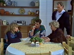 Charlene Mitchell, Paul Robinson, Helen Daniels, Jim Robinson in Neighbours Episode 0572