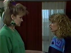 Daphne Clarke, Charlene Mitchell in Neighbours Episode 0573