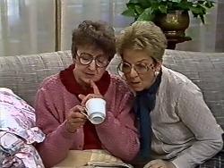 Nell Mangel, Eileen Clarke in Neighbours Episode 0573