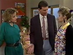 Gail Robinson, Des Clarke, Daphne Clarke in Neighbours Episode 0574