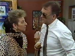 Eileen Clarke, Harold Bishop in Neighbours Episode 0574