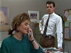 Gail Robinson, Paul Robinson in Neighbours Episode 0574