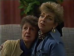 Nell Mangel, Eileen Clarke in Neighbours Episode 0576