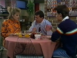 Daphne Clarke, Des Clarke, Mike Young in Neighbours Episode 0576