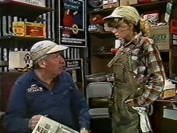 Rob Lewis, Charlene Mitchell in Neighbours Episode 0580