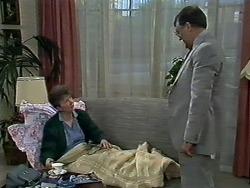 Nell Mangel, Harold Bishop in Neighbours Episode 0580