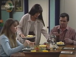 Libby Kennedy, Susan Kennedy, Karl Kennedy in Neighbours Episode 2671