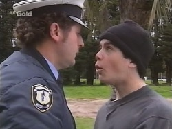 Security Person, Pete Collins in Neighbours Episode 2672
