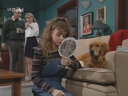 Philip Martin, Debbie Martin, Hannah Martin, Holly in Neighbours Episode 2672