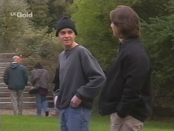 Pete Collins, Darren Stark in Neighbours Episode 2673