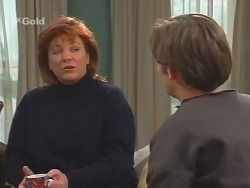 Cheryl Stark, Malcolm Kennedy in Neighbours Episode 2674