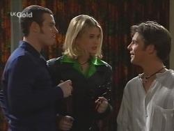 Stonie Rebecchi, Danni Stark, Malcolm Kennedy in Neighbours Episode 2674