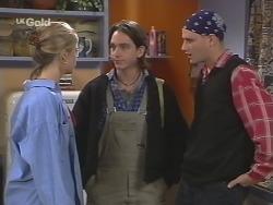 Danni Stark, Darren Stark, Luke Handley in Neighbours Episode 2675