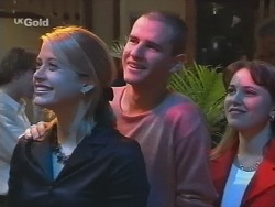 Danni Stark, Luke Handley, Libby Kennedy in Neighbours Episode 2676