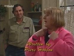 Mick Anderson, Angie Rebecchi in Neighbours Episode 2677