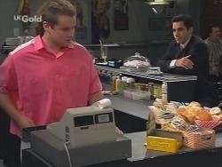 Toadie Rebecchi, Steve George in Neighbours Episode 2677